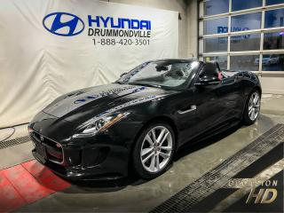 Used 2016 Jaguar F-Type S AWD + SPORT EXHAUST + MAGS + CUIR + NA for sale in Drummondville, QC