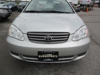 Used 2003 Toyota Corolla CE for sale in Newmarket, ON