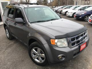Used 2009 Ford Escape XLT/AUTO/ALLOYS/FOG LIGHTS/4WD/LOADED!! for sale in Scarborough, ON