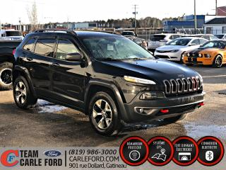 Used 2015 Jeep Cherokee Jeep Cherokee Trailhawk 2015 4x4, Systèm for sale in Gatineau, QC