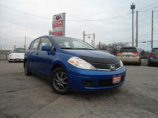 Used 2007 Nissan Versa AUTO 5 DR HATCH PW PL PM GAS SAVER SAFETY A/C for sale in Oakville, ON