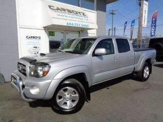 Used 2010 Toyota Tacoma TRD Sport 4x4, Double Cab, Leather, Heated Seats for sale in Langley, BC