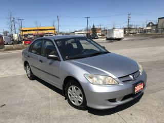 Used 2004 Honda Civic 4 door, Automatic, 3/Y warranty available for sale in North York, ON