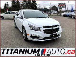 Used 2015 Chevrolet Cruze LT+Camera+Remote Start+BlueTooth+My Link+XM Radio+ for sale in London, ON