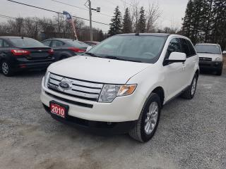 Used 2010 Ford Edge SEL LEATHER PANORAMIC SUNROOF AWD for sale in Gormley, ON