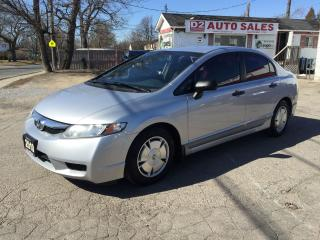 Used 2010 Honda Civic 1 Owner/Automatic/Gas Saver/Certified for sale in Scarborough, ON