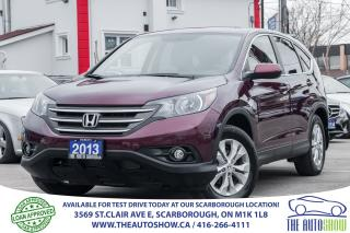 Used 2013 Honda CR-V EX-L AWD Sunroof Leather RearviewCam XTRA WNTR TYR for sale in Caledon, ON