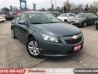 Used 2012 Chevrolet Cruze LT Turbo | FAST APPROVALS | APPLY TODAY for sale in London, ON
