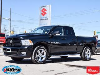 Used 2012 Dodge Ram 1500 Sport Quad 4x4 ~Nav ~Backup Cam ~Power Moonroof for sale in Barrie, ON