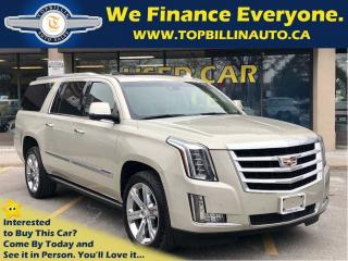 Used 2016 Cadillac Escalade ESV Premium Collection for sale in Concord, ON