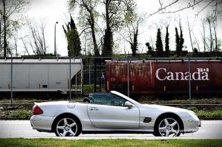 Used 2003 Mercedes-Benz SL-Class SL500 for sale in Burnaby, BC