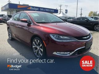 Used 2015 Chrysler 200 Performance Plus C Package, Navigation for sale in Vancouver, BC