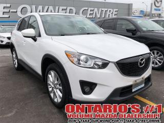 Used 2014 Mazda CX-5 GT-AWD/LEATHER/SUNROOF/REVERSE CAM-TORONTO for sale in North York, ON