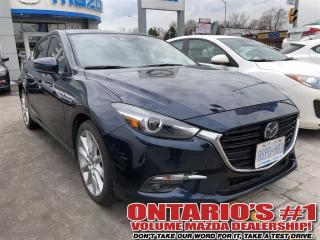 Used 2017 Mazda MAZDA3 GT NAVIGATION/HEADS UP DISPLAY-TORONTO for sale in North York, ON