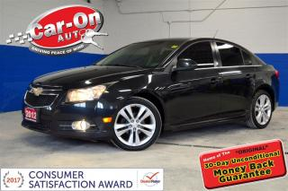 Used 2012 Chevrolet Cruze LT Turbo A/C PWR GRP ALLOYS REMOTE STAR for sale in Ottawa, ON