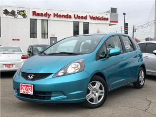 Used 2013 Honda Fit LX -  New Tires - Bluetooth for sale in Mississauga, ON