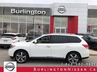 Used 2014 Nissan Pathfinder Platinum for sale in Burlington, ON