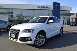 Used 2014 Audi Q5 2.0 Progressive - 24,000 Kms for sale in Port Coquitlam, BC