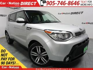 Used 2015 Kia Soul SX| LEATHER| BACK UP CAMERA| PUSH START| for sale in Burlington, ON