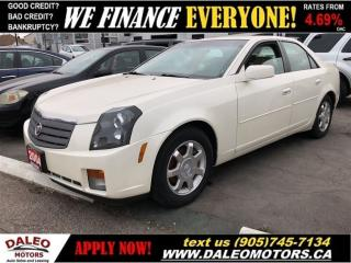 Used 2004 Cadillac CTS LUXURY | LEATHER | SUNROOF | NEW PRICE!! for sale in Hamilton, ON