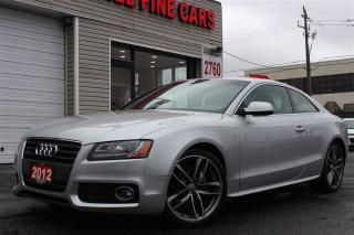 Used 2012 Audi A5 2.0T Quattro. S Line. Pnoramic Roof for sale in North York, ON