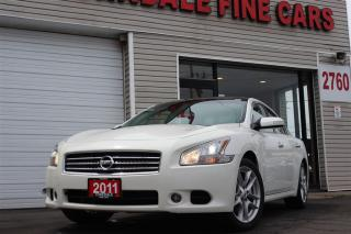 Used 2011 Nissan Maxima SV. Panoramic. Leather. Camera for sale in North York, ON