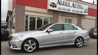 Used 2011 Mercedes-Benz E-Class 4dr Sdn 3.5L 4MATIC.NAVI .BACK UP CAMERA.PANORAMIC ROOF for sale in North York, ON