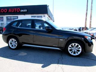Used 2012 BMW X1 xDrive28i AWD PANORAMIC SUNROOF CERTIFIED 2YR WARRANTY for sale in Milton, ON