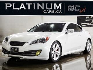Used 2012 Hyundai Genesis Coupe 3.8L V6, 6-SPEED, NAVI, LEATHER for sale in North York, ON