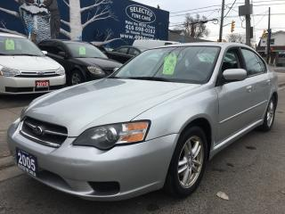 Used 2005 Subaru Legacy i for sale in Scarborough, ON