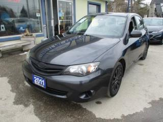 Used 2011 Subaru Impreza POWER EQUIPPED A.W.D. 5 PASSENGER 2.5L - SOHC.. 5-SPEED MANUAL.. CD/AUX/USB INPUT.. KEYLESS ENTRY.. for sale in Bradford, ON