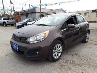 Used 2013 Kia Rio certified,,low kms!!! for sale in Oshawa, ON