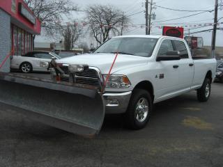 Used 2012 RAM 2500 SLT Diesel 4X4 Long Box Plow Truck for sale in London, ON