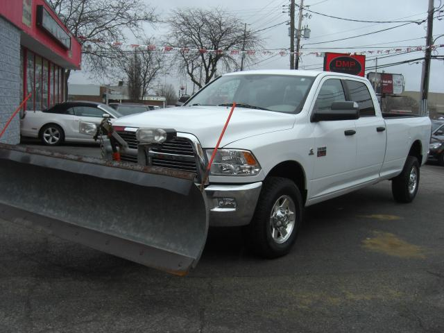 2012 RAM 2500 SLT Diesel 4X4 Long Box Plow Truck
