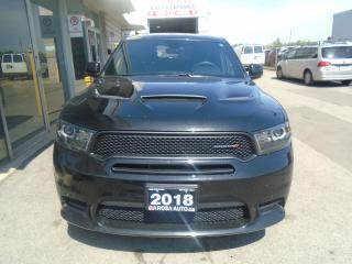 Used 2018 Dodge Durango R/T  NO ACCIDENTS SUNROOF AUXApple Carplay safety for sale in Oakville, ON