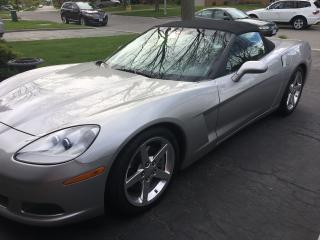 Used 2005 Chevrolet Corvette Silver for sale in Scarborough, ON