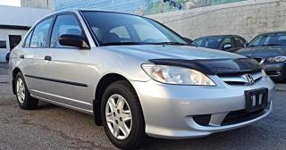 Used 2005 Honda Civic Sdn SE for sale in Etobicoke, ON