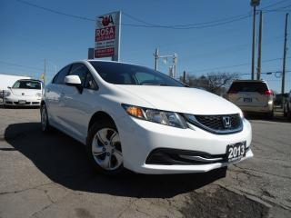 Used 2013 Honda Civic AUTO 4 DR  LOW KM BLUETOOTH new tires A/C PW PL PM for sale in Oakville, ON