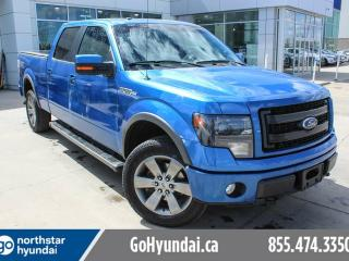 Used 2014 Ford F-150 FX4 BLUE FLAME LEATHER/ROOF/NAV/TONNEAUCOVER/BACKUPCAM for sale in Edmonton, AB