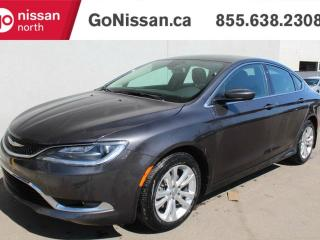 Used 2016 Chrysler 200 Limited: LEATHER, NAVIGATION, SUNROOF for sale in Edmonton, AB