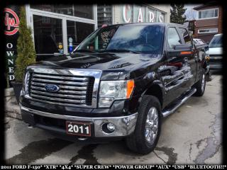 Used 2011 Ford F-150 XTR*4X4*SUPERCREW*PWR GRP*AUX*USB*BTOOTH* for sale in York, ON