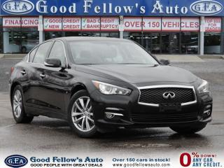 Used 2014 Infiniti Q50 PREMIUM, 6CYL, 3.7L, AWD, LEATHER SEATS, NAVI for sale in North York, ON