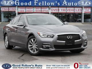 Used 2014 Infiniti Q50 PREMIUM, AWD, 6.CYL, 3.7L, LEATHER SEATS, NAVI for sale in North York, ON