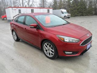 Used 2015 Ford Focus SE / LEATHER / HEATED SEATS AND STEERING WHEEL/ for sale in Beaverton, ON