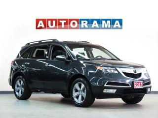 Used 2013 Acura MDX NAVIGATION LEATHER SUNROOF 7 PASS BACKUP CAMERA for sale in North York, ON