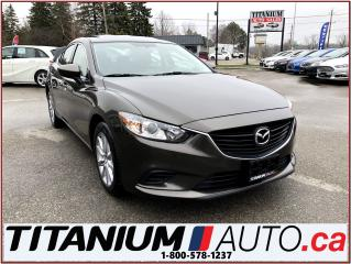 Used 2016 Mazda MAZDA6 GS-L+Camera+GPS+Blind Spot+Leather+Sunroof+Cross T for sale in London, ON
