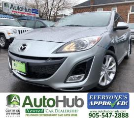 Used 2010 Mazda MAZDA3 GT-HEATED SEATS-SUNROOF for sale in Hamilton, ON