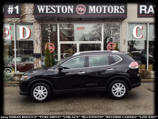 Used 2014 Nissan Rogue S*PURE DRIVE*USB*AUX*BTOOTH*REVERSE CAMERA*LOW KM* for sale in York, ON