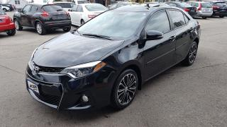 Used 2014 Toyota Corolla S - Tech Pack- NAVIGATION for sale in Hamilton, ON