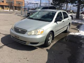 Used 2003 Toyota Corolla AUTO,SAFETY+3YEARS WARRANTY INCLUDED for sale in North York, ON